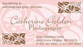 Catherine Golden business card